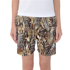 Luxury Animal Print Women s Basketball Shorts by tarastyle