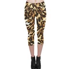 Luxury Animal Print Capri Leggings  by tarastyle