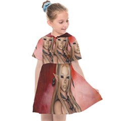 Wonderful Mythical Fairy Kids  Sailor Dress by FantasyWorld7