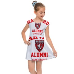 Harvard Alumni Just Kidding Kids  Cap Sleeve Dress by Sudhe