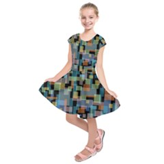 New York City Kids  Short Sleeve Dress by zappwaits