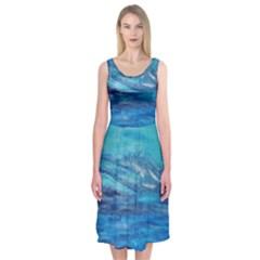 Into The Chill  Midi Sleeveless Dress