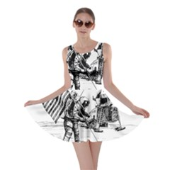 Apollo Moon Landing Nasa Usa Skater Dress