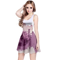 Abstract Painting Edinburgh Capital Of Scotland Reversible Sleeveless Dress