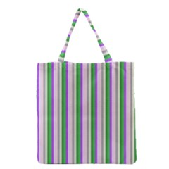 Candy Stripes 2 Grocery Tote Bag