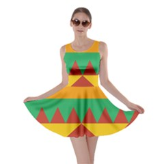 Burger Bread Food Cheese Vegetable Skater Dress