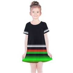 Colorful Neon Background Images Kids  Simple Cotton Dress