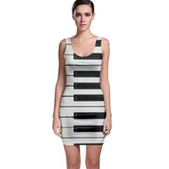 Keybord Piano Bodycon Dress