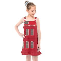 Red House Kids  Overall Dress by Sudhe