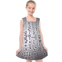 Science Formulas Kids  Cross Back Dress by Sudhe