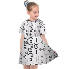 Science Formulas Kids  Sailor Dress by Sudhe