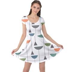 Zappwaits Retro 3 Cap Sleeve Dress