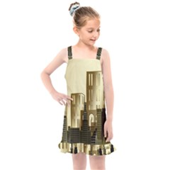 Architecture City House Kids  Overall Dress by Sudhe