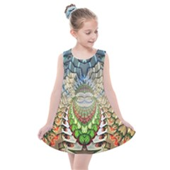 Abstract Fractal Magical Kids  Summer Dress by Sudhe