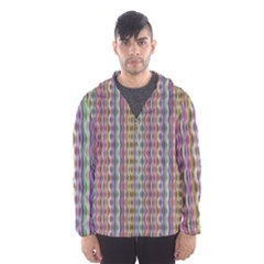 Psychedelic Background Wallpaper Hooded Windbreaker (men) by Sudhe
