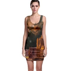Geology Sand Stone Canyon Bodycon Dress