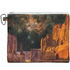 Geology Sand Stone Canyon Canvas Cosmetic Bag (xxxl) by Sudhe