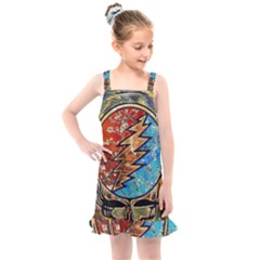 Grateful Dead Rock Band Kids  Overall Dress by Sudhe