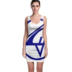 Sukhoi Aircraft Logo Bodycon Dress