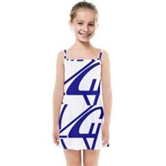 Sukhoi Aircraft Logo Kids  Summer Sun Dress by Sudhe