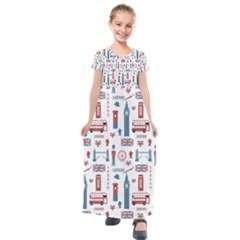 London Love Kids  Short Sleeve Maxi Dress by lucia