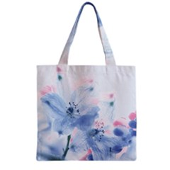 Ceanothus Wind Grocery Tote Bag by tangdynasty
