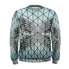 Graphic Pattern Wing Art Men s Sweatshirt