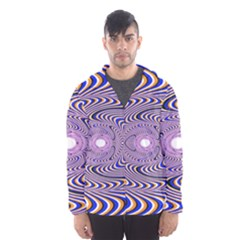 Illusion Head Idea Irritation Hooded Windbreaker (men) by Pakrebo