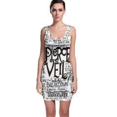 Pierce The Veil Music Band Group Fabric Art Cloth Poster Bodycon Dress by Sudhe