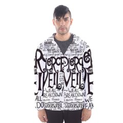 Pierce The Veil Music Band Group Fabric Art Cloth Poster Hooded Windbreaker (men) by Sudhe