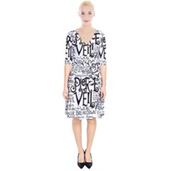 Pierce The Veil Music Band Group Fabric Art Cloth Poster Wrap Up Cocktail Dress
