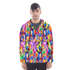 135 1 Hooded Windbreaker (men) by ArtworkByPatrick