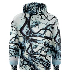 Tree Winter Blue Snow Cold Scene Men s Pullover Hoodie