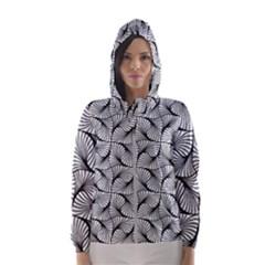 Abstract Seamless Pattern Women s Hooded Windbreaker by Pakrebo