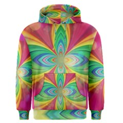 Color Abstract Form Ellipse Bokeh Men s Pullover Hoodie