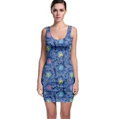 Floral Design Asia Seamless Pattern Bodycon Dress by Pakrebo