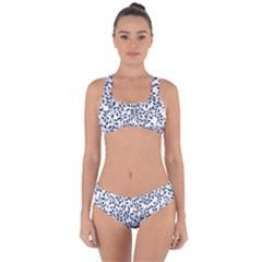 Leaves Criss Cross Bikini Set by alllovelyideas