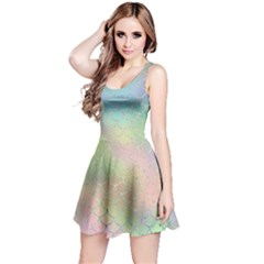 Pastel Mermaid Sparkles Reversible Sleeveless Dress