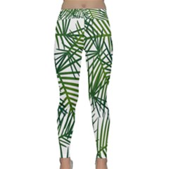 Fancy Tropical Pattern Classic Yoga Leggings by tarastyle