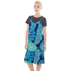 Fancy Tropical Pattern Camis Fishtail Dress by tarastyle