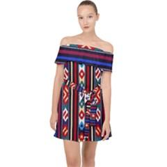 Ml 154 Off Shoulder Chiffon Dress by ArtworkByPatrick