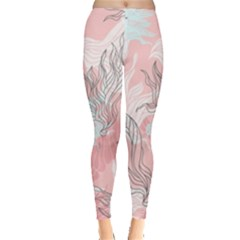Cute Abstract Pattern  Leggings