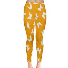 Butterfly Pattern Inside Out Leggings by tarastyle