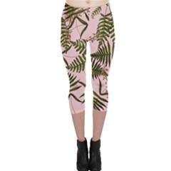 Fern Pink Capri Leggings