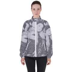Kids Women s High Neck Windbreaker by snowwhitegirl
