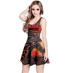 Dragon Reversible Sleeveless Dress