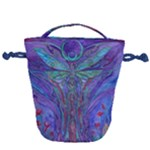 Collection: Acquerello<br>Print Design: Odonata Primavera<br>Style: Drawstring Bag