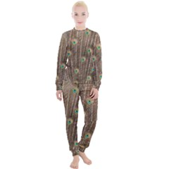 Peacock Feather Bird Exhibition Women s Lounge Set by Pakrebo