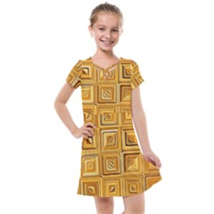 Electric Field Art Xv Kids  Cross Web Dress by okhismakingart