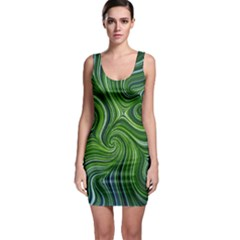 Electric Field Art Xlix Bodycon Dress